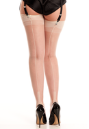 Ivory Cuban Heel Stockings