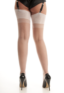 White RHT Stockings - Large