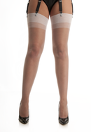 White Point Heel Stockings